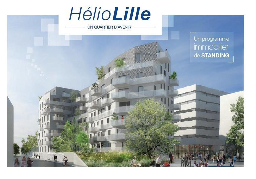 Vente appartement 59000 Lille - T4 - PROGRAMME NEUF A LILLE