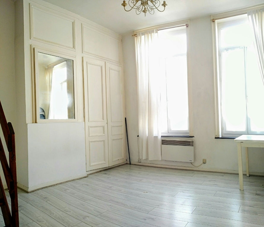 Vente appartement 59000 Lille - Rue des stations - Grand studio + mezzanine