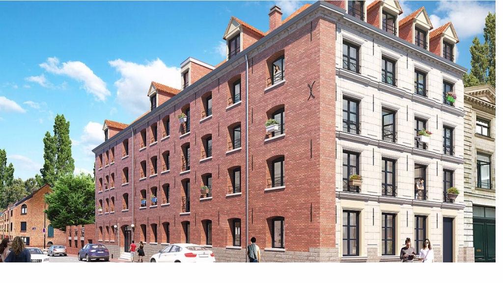 Vente appartement 59000 Lille - T4 neuf Vieux Lille