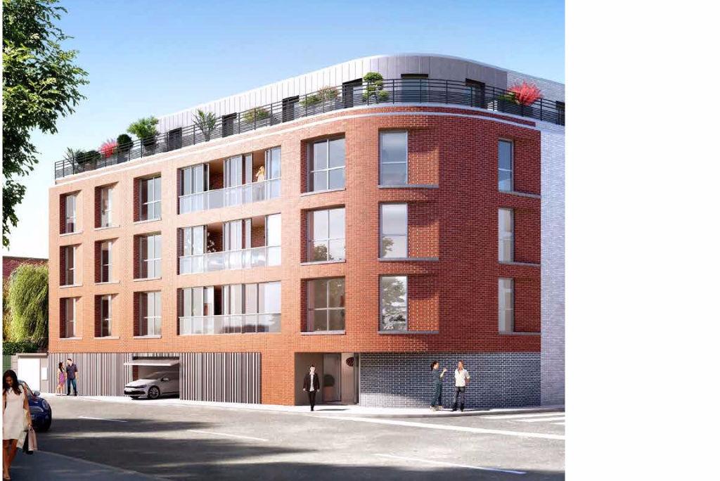 Vente appartement 59110 La madeleine - Romarin La Madeleine 4 pièces 119 m2 dernier étage