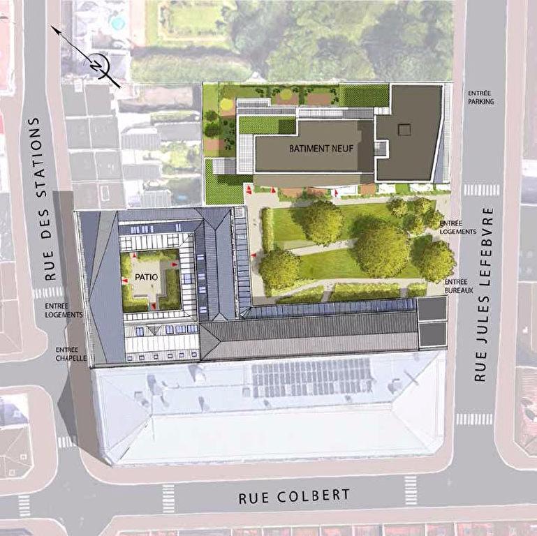 Lille - Les Jardins du Cloitre - T4 avec terrasse et stationnement