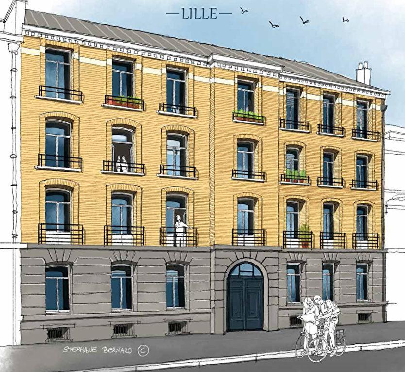 Vente appartement 59000 Lille - T4 République Beaux Arts