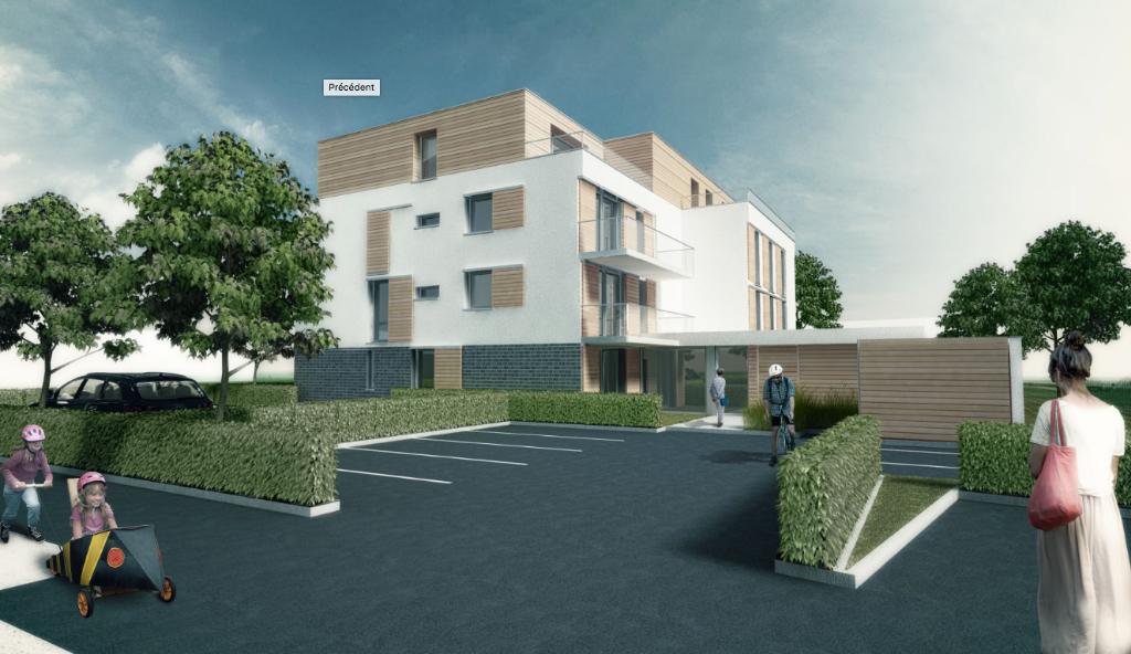 Appartement Willems 3 pièces avec terrasse résidence HORIZON