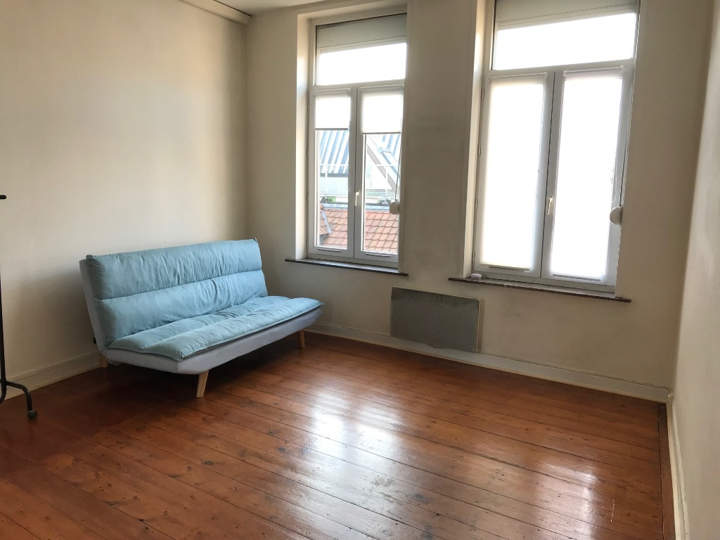 Location appartement 59000 Lille - Lille, Studio non meublé de 23 m²