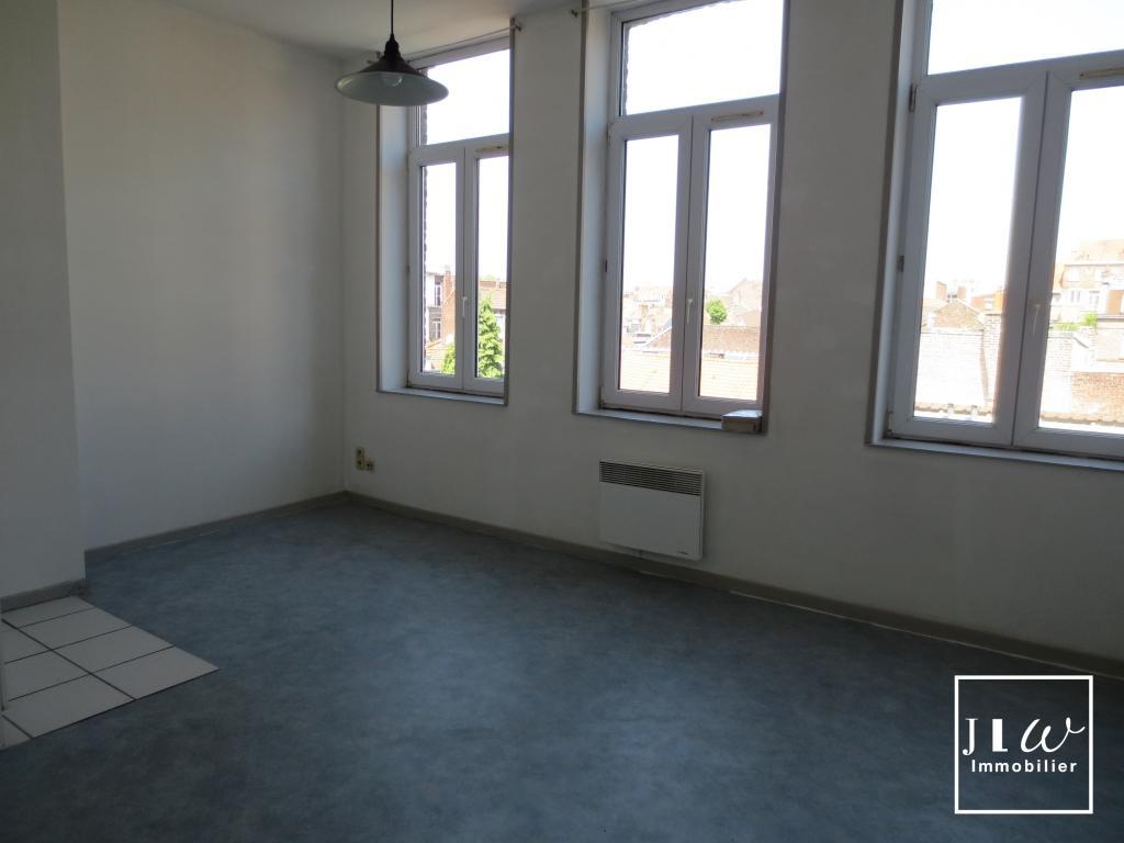 Location appartement 59000 Lille - Studio non meublé de 25 m² - Lille Sébastopol