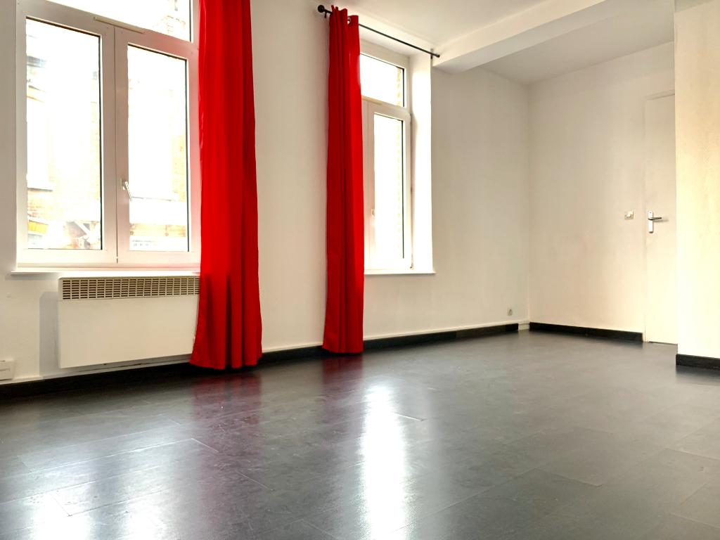 Location appartement 59000 Lille - Lille St-Michel - Studio de 25m² non meublé