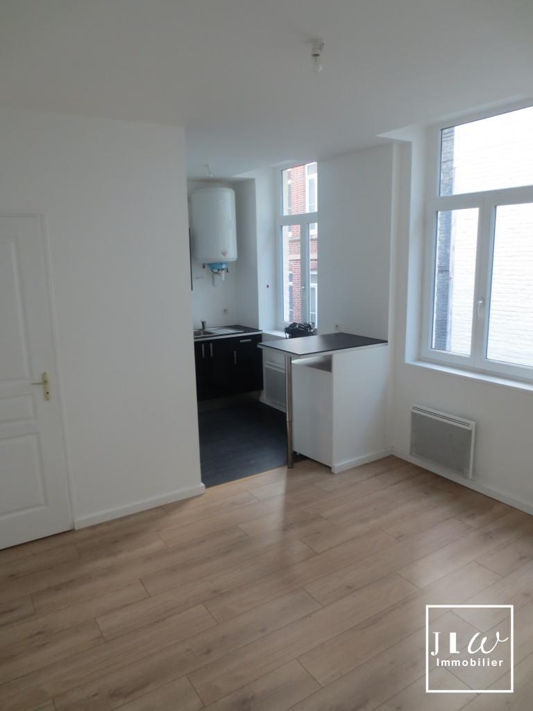 Location appartement 59000 Lille - Lille Solférino - T1 bis non meublé de 26,99m²