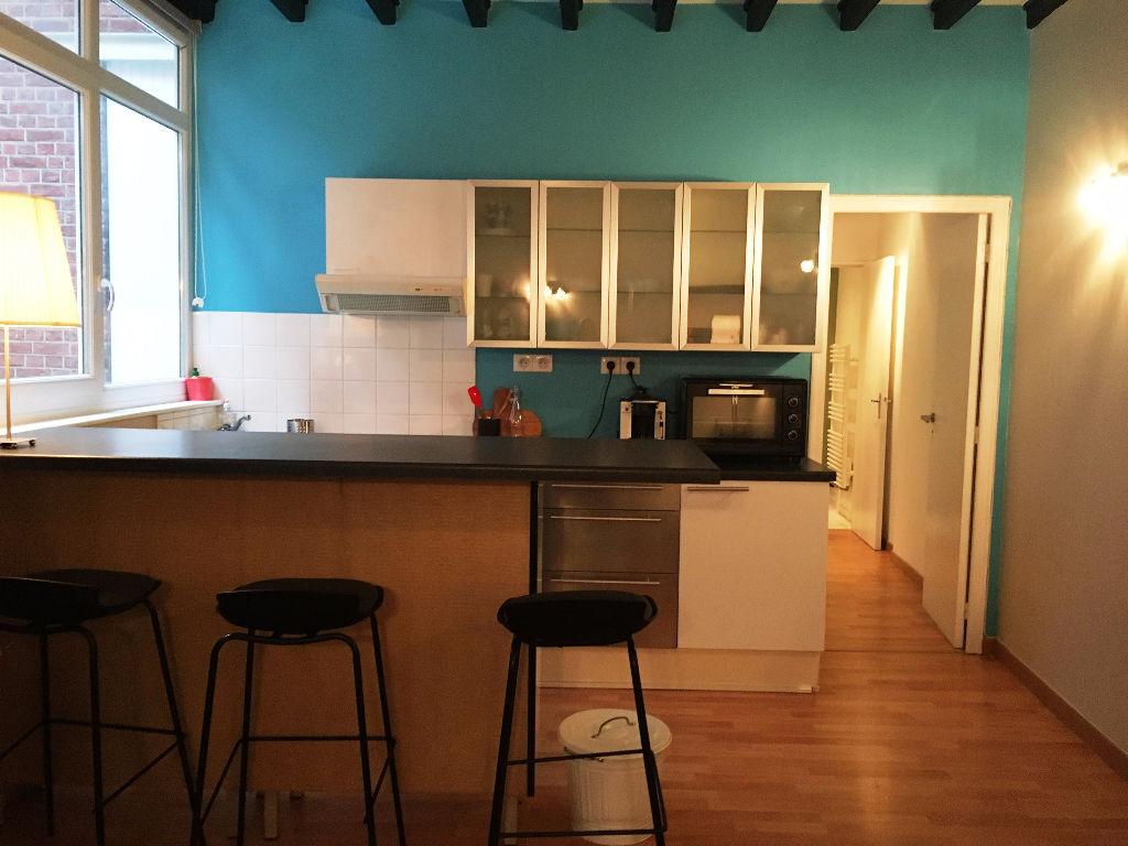 Location appartement 59000 Lille - Lille Vauban - Type 1 bis meublé de 35m²