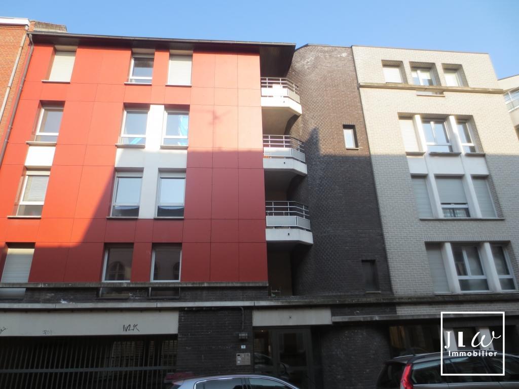 Location appartement 59000 Lille - Lille secteur Vauban - Type 2 non meublé 42.05m² - Terrasse