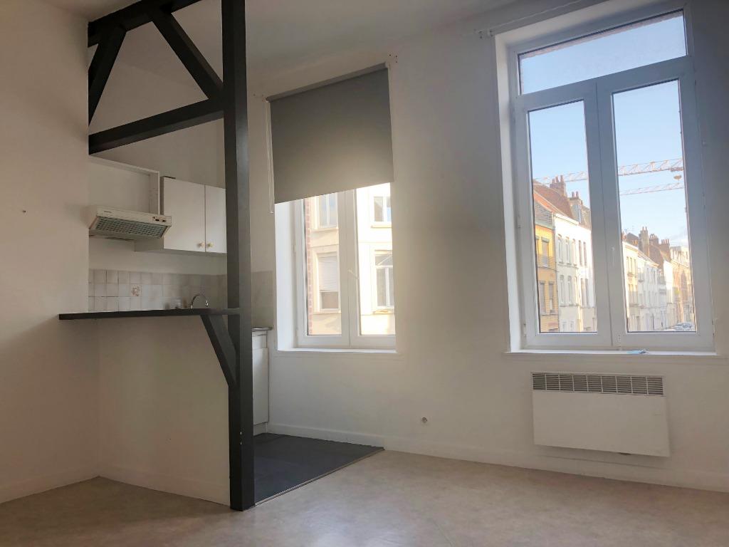 Location appartement 59000 Lille - République Saint Michel - Type 2 non meublé de 31,5m²
