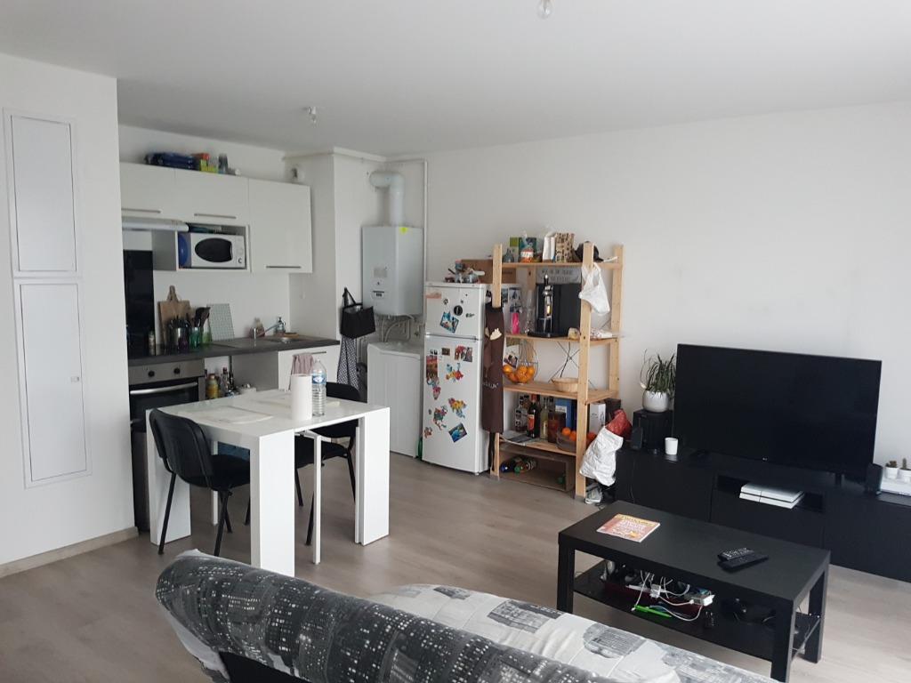 Location appartement 59118 Wambrechies - Wambrechies - Type 2 non meublé de 45,20m²