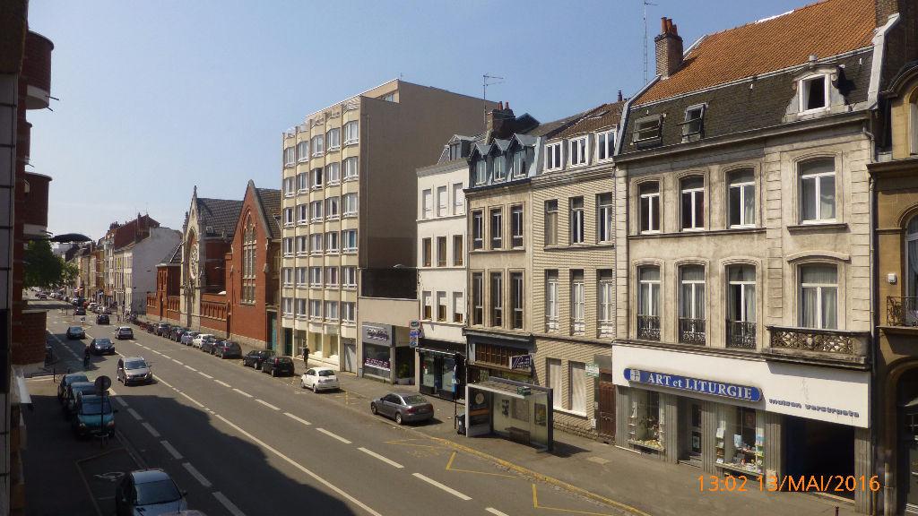 Location appartement 59000 Lille - Type 3 Non Meublé - résidence sécurisée, parking sous-sol, Lille Nationale