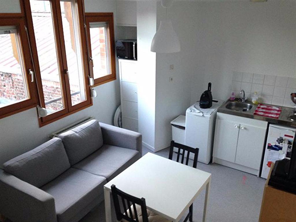 Location appartement 59000 Lille - Rue de douai T2 non meublé avec parking