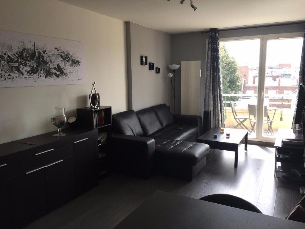 Location appartement 59000 Lille - Lille Cormontaigne - 2 pièces meublé de 42m²
