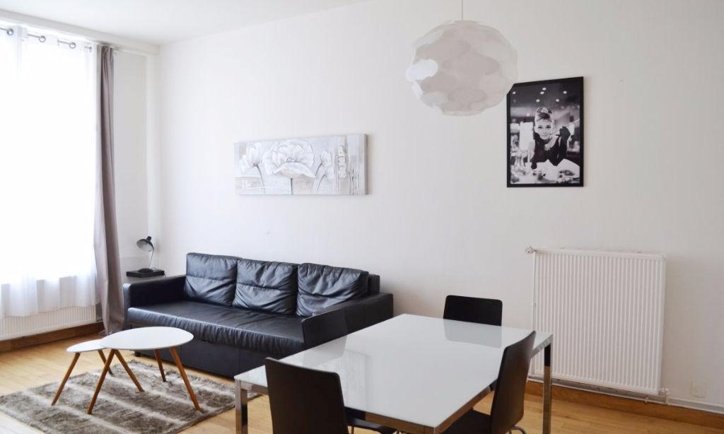 Location appartement 59170 Croix - Croix - Type 2 bis meublé de 51.50m²