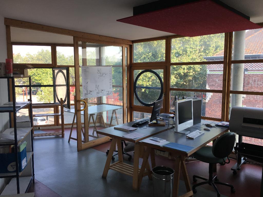 Location bureaux 59000 Lille - Bureaux Lille - Jean Baptiste Lebas - 117 m2