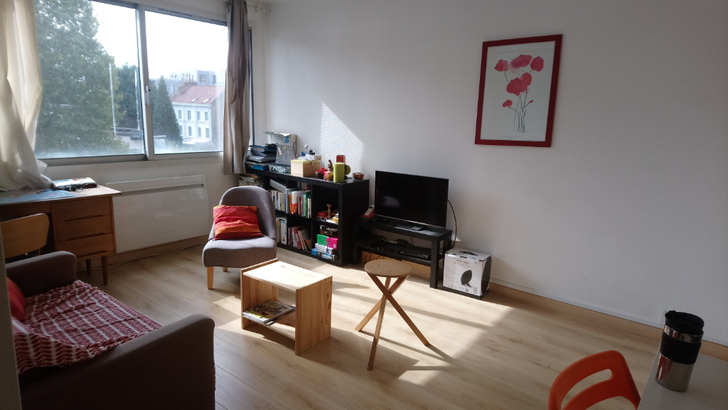 Vente appartement 59000 Lille - Rue Ratisbonne - Type 2 + parking